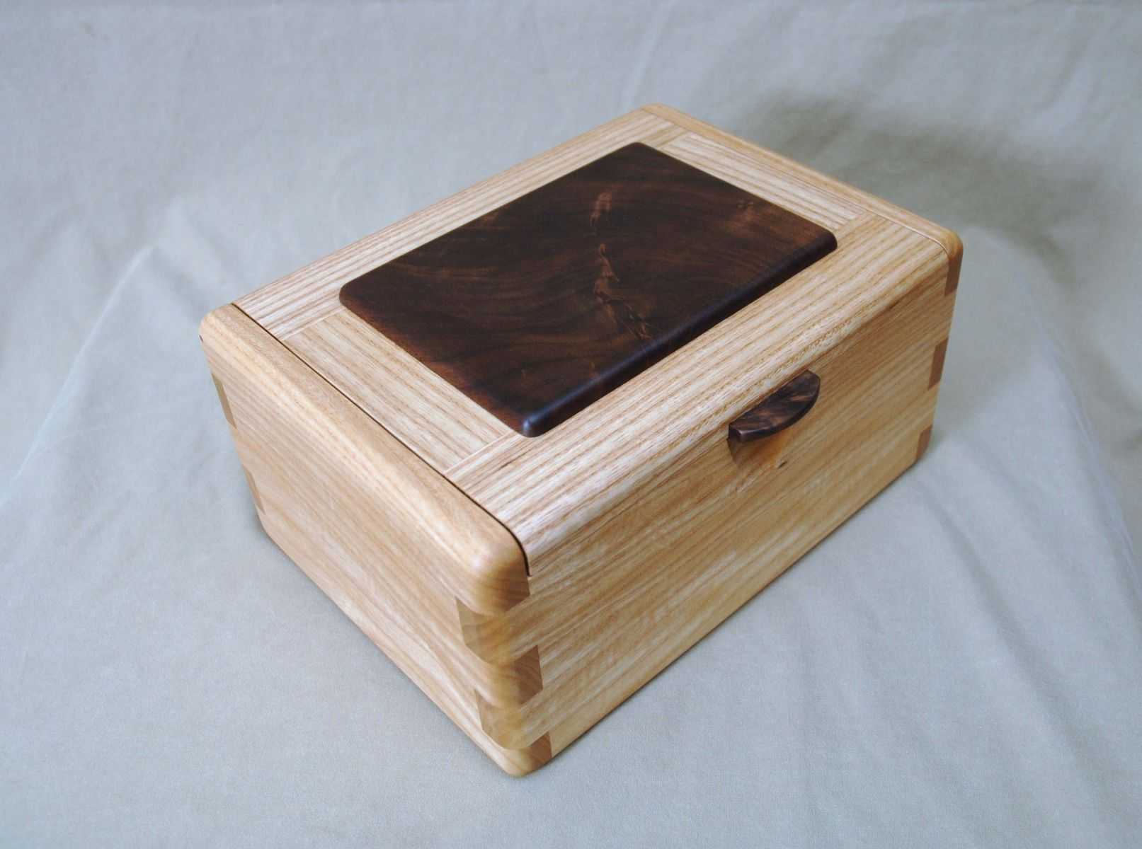 7fddee3024fc Hand Made Walnut And Ash Keepsake Box by Natural Mystic Woodwork ...