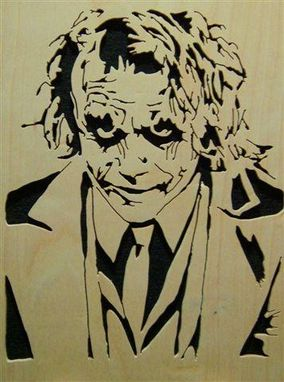 Custom Made Dark Knight Joker
