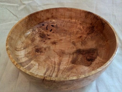 Custom Made Maple Burl Bowl