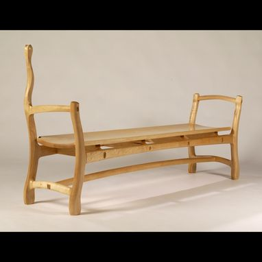 Custom Made Maple Bench