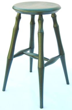 Custom Made Bamboo Leg Stool