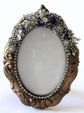 Custom Made Jeweled Mirrors And Frames