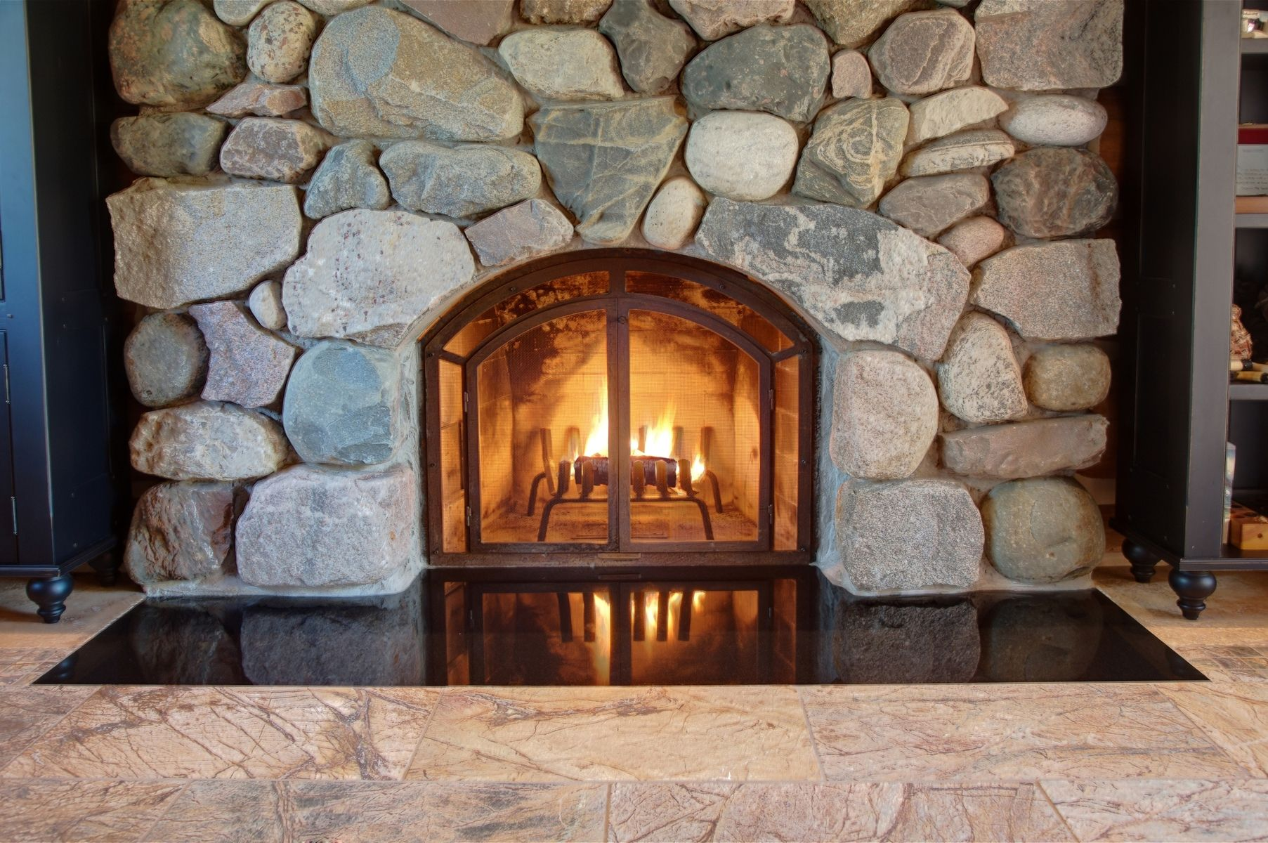 mtn southern signal indoor fireplace glass tennessee hearth chattanooga doors b for custom patio