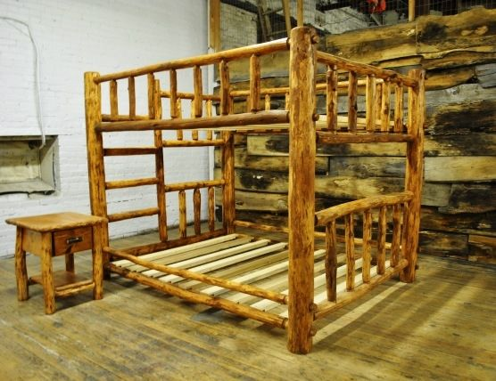 Handmade Log Furniture By Second Life Studios Custommade Com
