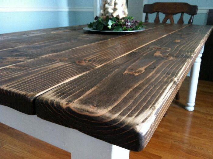 Custom Made Farmhouse Table By Great Lakes Reclaimed Custommade Com