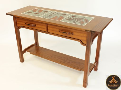 Custom Made Greene And Greene Hall Table