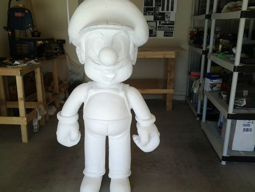 Custom Made Super Mario Life Sized Statue