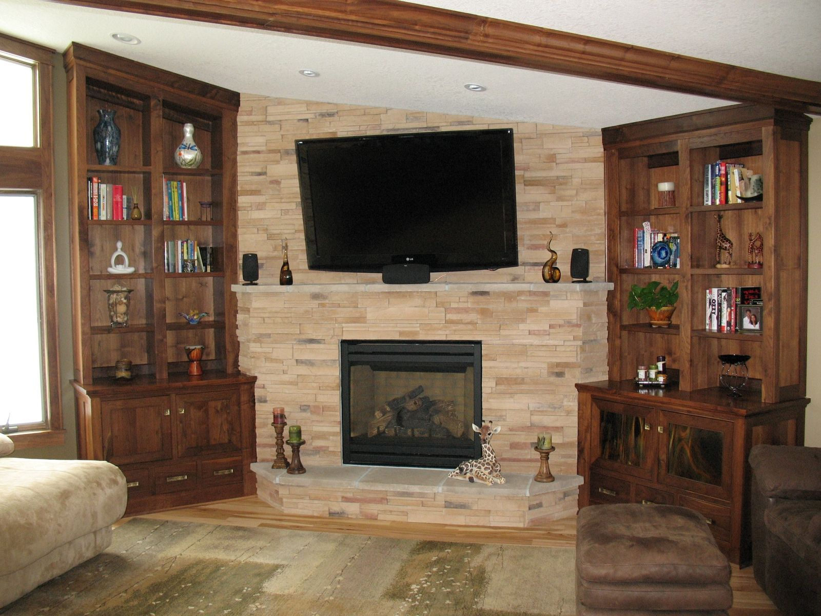 interior bookcases bookshelves beautiful best fireplace with white surrounds along of