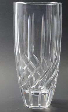 Custom Made Hand Cut Crystal Vase Can Customise