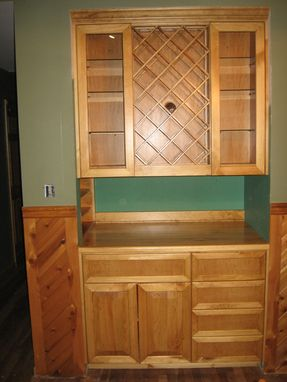 Custom Made Built In Cabinet