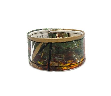 Custom Made Earthy Brown Cuff Bracelet - Extra Large Wrist Band - Wide Cuff - Bracelet For Men