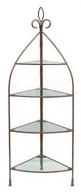 Custom Made Corner Etagere