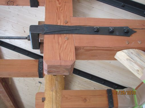Custom Made Iron Timber Hardware