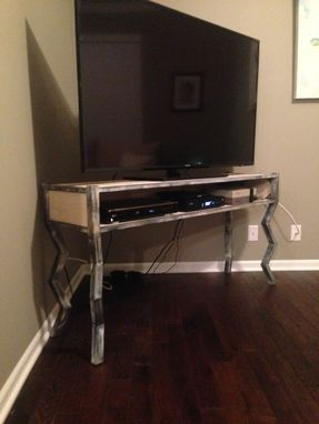 Custom Made Metal Entertainment Stand