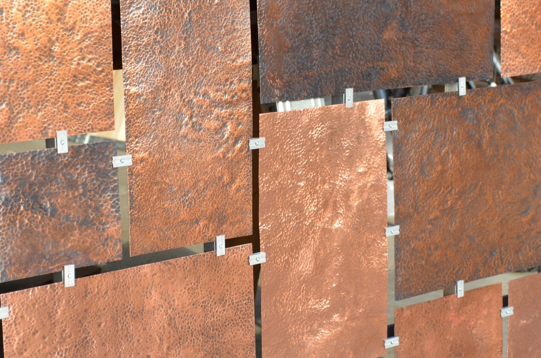 Hand Made Custom Hammered Copper Wall Art By Fabitecture Custommade