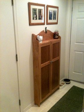 Custom Made Cherry Kitchen Storage Cabinet