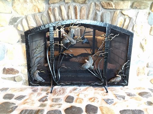 Custom Made Fireplace Screens