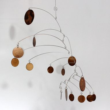 Custom Made Chocolate Mobile - Complexity Style By Carolyn Weir