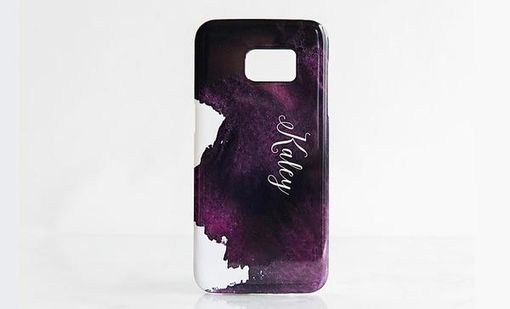 Custom Made Cell Phone Cases - Watercolor Designs