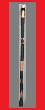 Custom Made Walking Cane Copper And Wenge