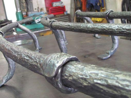 Hand Made Sky Bar Foot Rail By Hellgate Forge Custommade Com