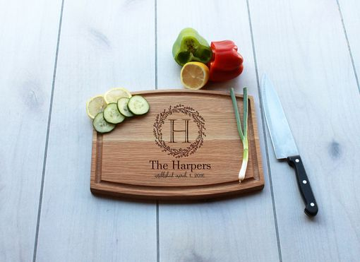 Custom Made Personalized Cutting Board, Engraved Cutting Board, Custom Wedding Gift – Cba-Wo-Harpers