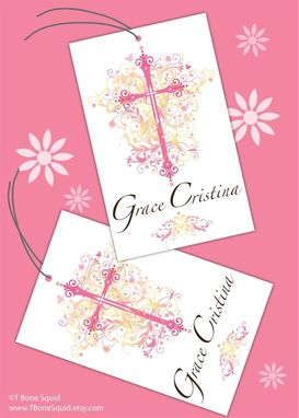 Custom Made Baptism, First Communion, Baby Dedication Invitation