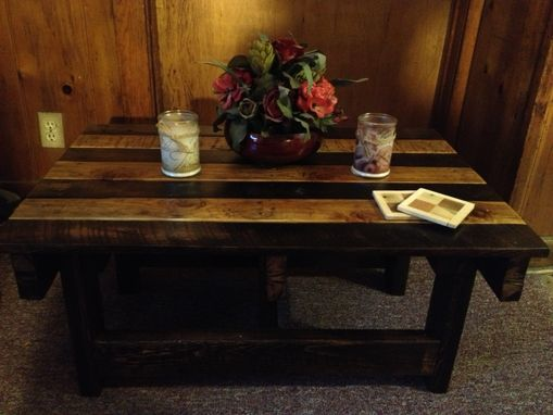 Custom Made Handmade Reclaimed Rustic Pallet Wood Coffee Table