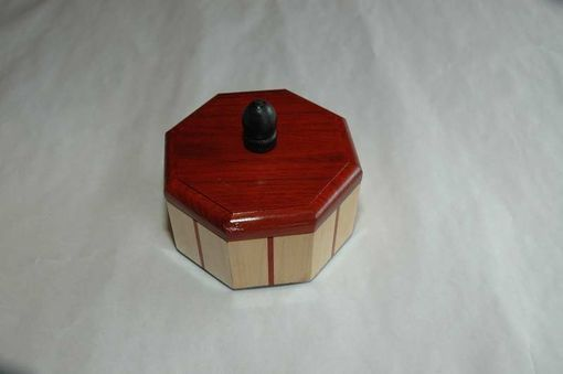 Custom Made Maple And Bloodwood Octagonal Box