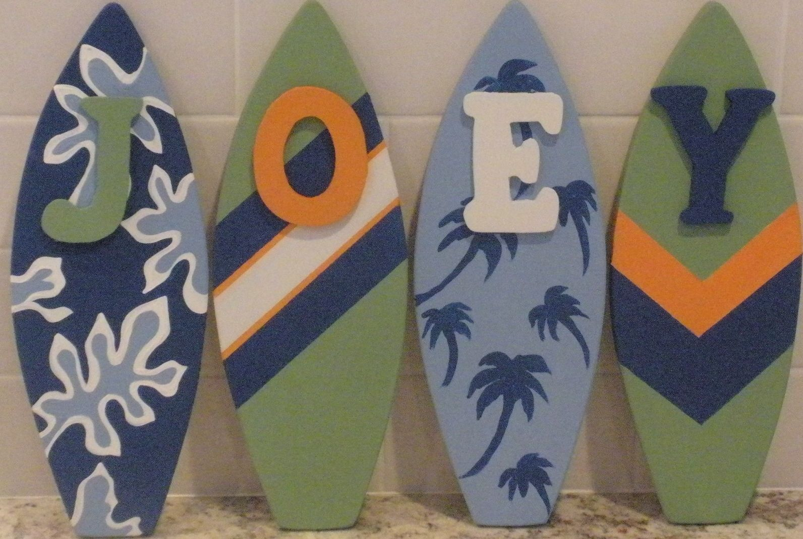 Custom Decorative Surfboard Wall Signs And Decor by ...