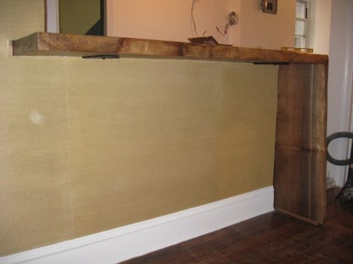 Custom Made Knee Wall Dining Bar