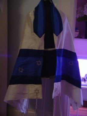 Custom Made Women's Silk Prayer Shawl (Tallit)