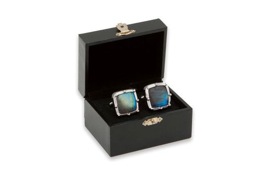 Custom Made Labradorite Cufflinks
