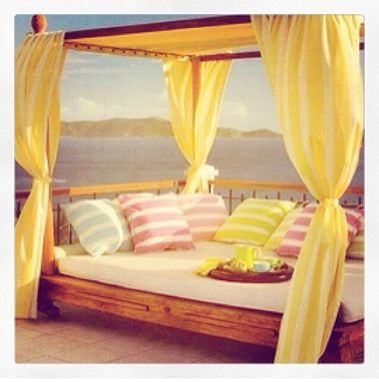 Custom Made Outdoor King Size Bed