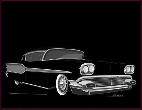Custom Made Automotive Art