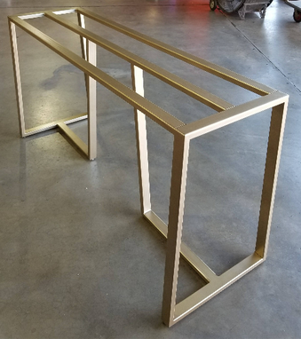 Custom Made Metal Table Base (Georgia)