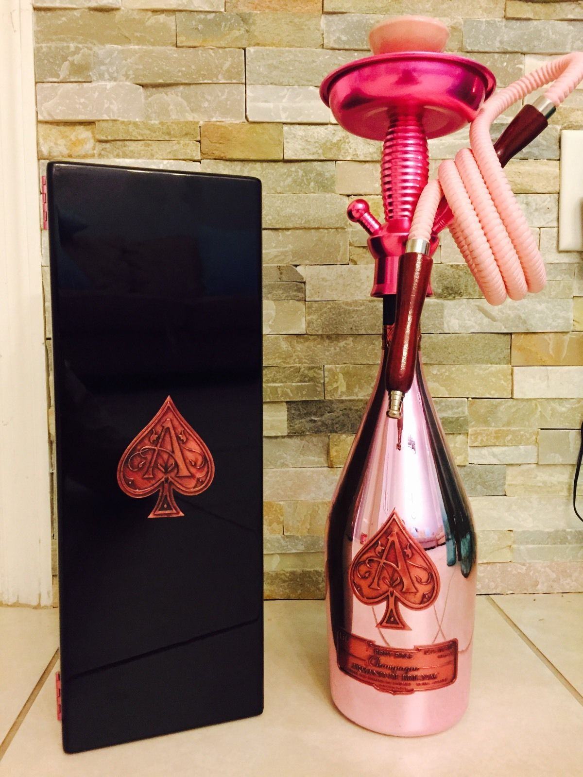Buy a hand crafted original ace of spades champagne bottle with al custom made original ace of spades champagne bottle with al moonla edition hookah kit new reviewsmspy
