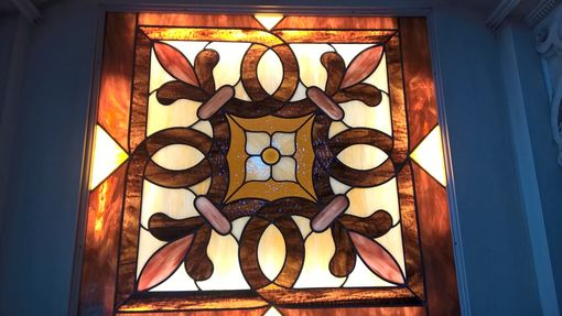 Custom Made Stained Glass Window Panel, Transom, Cabinet Inserts, Sidelights, Sky Lights, Tiffany Stained Glass