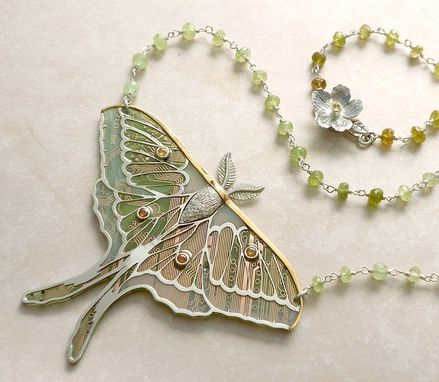 Custom Made Winged Insect Necklace