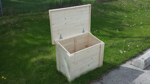 Custom Made Propane Bottle Box
