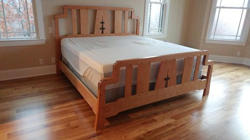 Custom Made Greene And Greene Bed