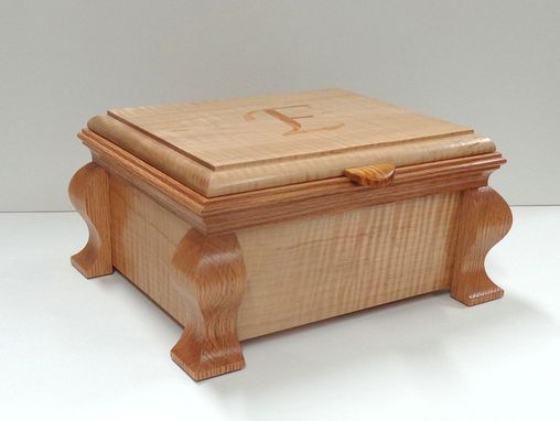 Custom Made Custom Set Of Matching Jewelry Boxes