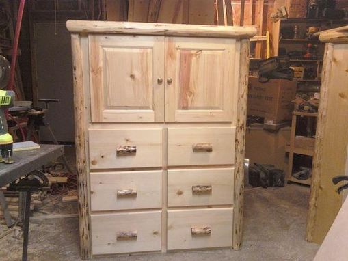 Custom Made Custom Dressers With Storage On Top
