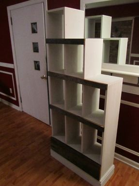 Custom Made Reclaimed Barnwood Bookcase