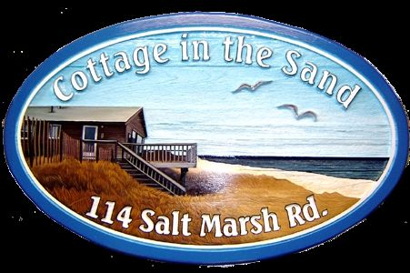Custom Made Landscape Signs