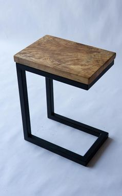 "Custom Made ""C"" End Table"