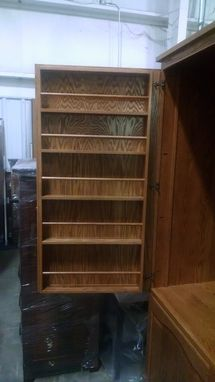 Custom Made Custom Pantry Cabinet In White Oak