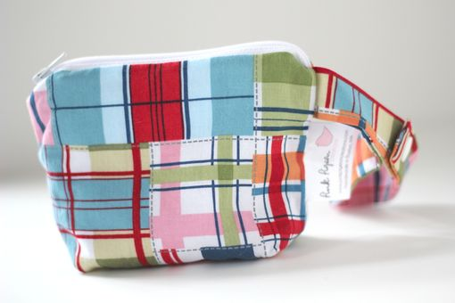 Custom Made Mini Gusseted Messy Bags (Snack Bags) - Madras Plaid