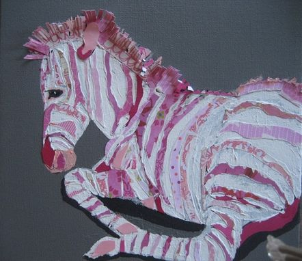 Custom Made Pink Zebra Limited Edition Print