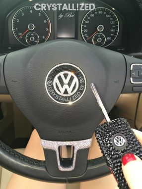 Custom Made Crystallized Car Key Made With Swarovski Crystals